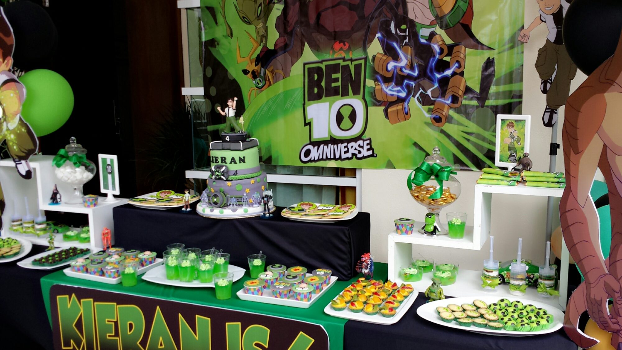 Ben 10 Birthday Party Ideas